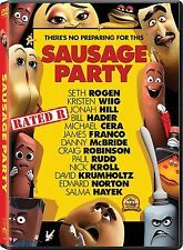 Sausage Party (DVD 2016) NEW *Adventure, Comedy, Animation* NOW SHIPPING !