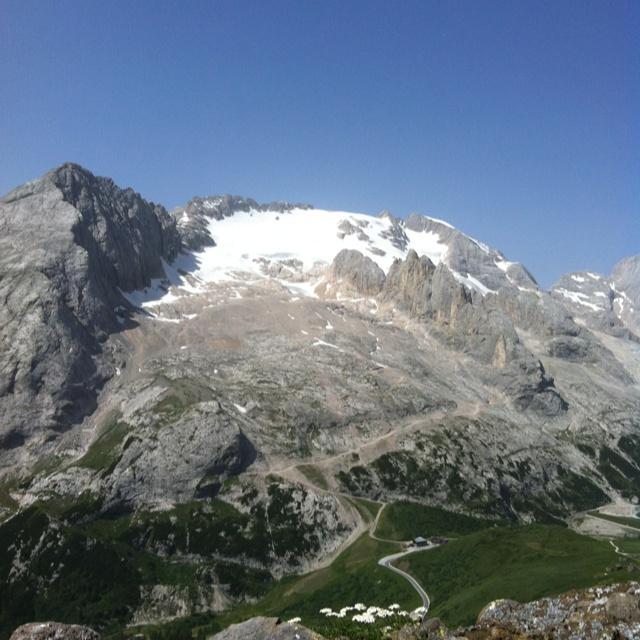 Marmolada 3342 m