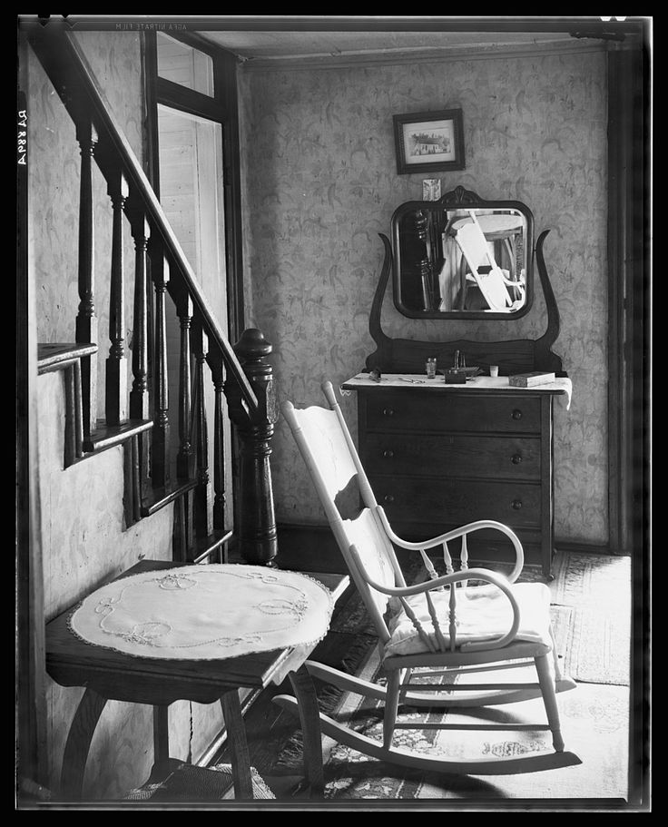 Walker Evans. Interior of Unemployed Man's House. Morgantown, West Virginia.