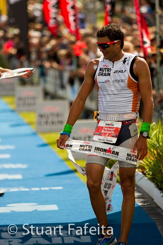 Hard Day at the office!! Nutri-grain Ironman 2012 - Taupo, NZ