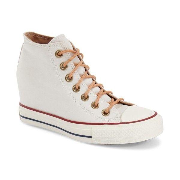 Converse Chuck Taylor All Star 'Lux' Hidden Wedge High Top Sneaker, 3