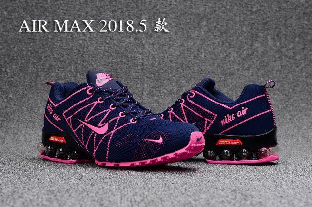 Nike Air Ultra Max Shox Purple Pink Black Womens Running Shoes NIKE ... 3833f6ac5