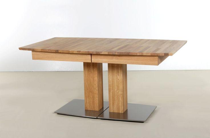 AMELA Massivholz Kulissentisch 2XL / 3XL ausziehbar buche  3XL | rechteckig | 180x90 cm | Buche geölt