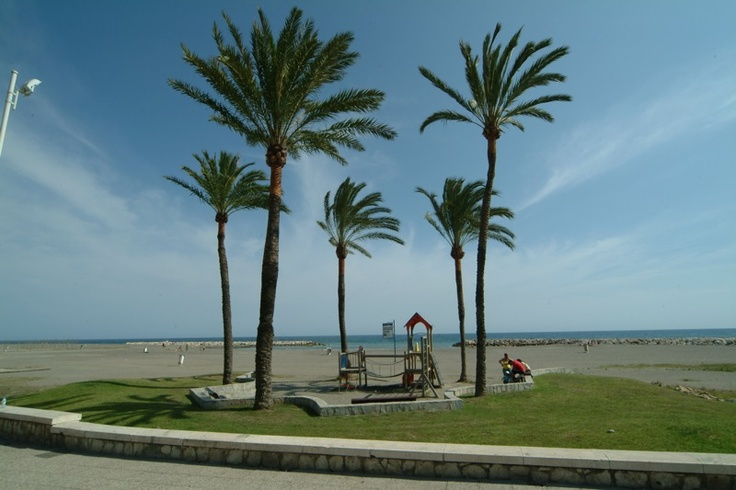 Playa Pedregalejo Beach in Málaga