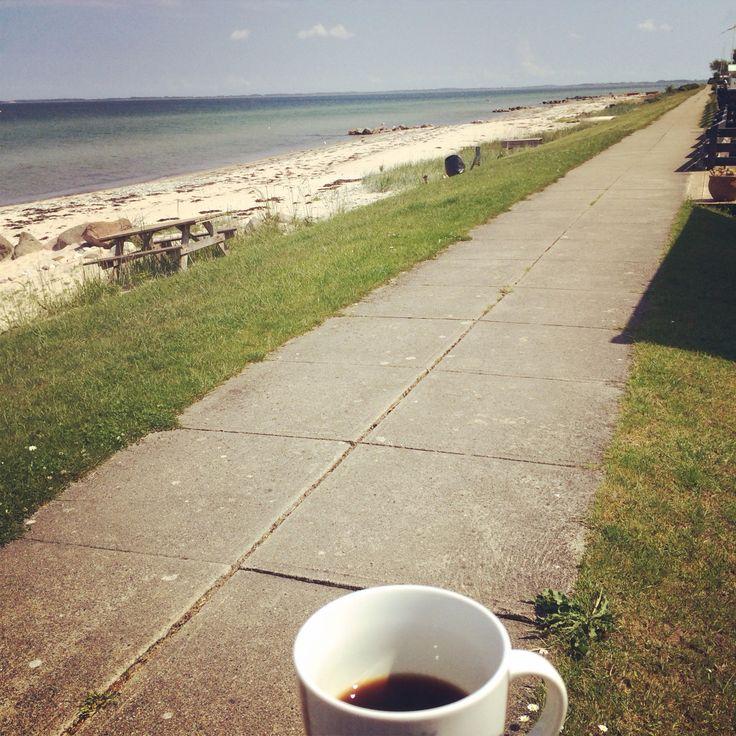 Coffeetime. Hasmark Beach. #nordfyn #mitfyn