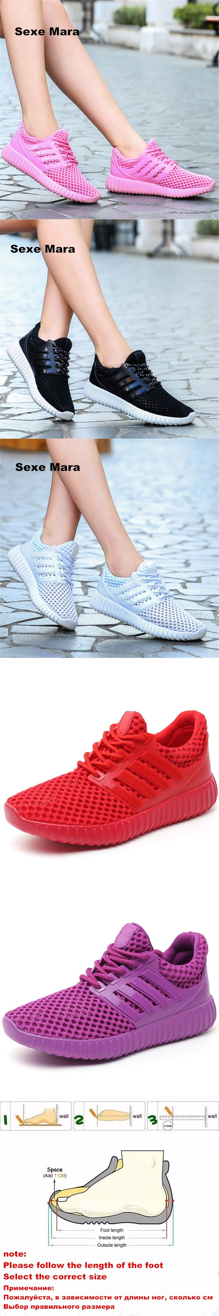 NEW 2017 Sneakers Women shoes Breathable Mesh Summer Running shoes for Women Sport shoes women Outdoor Jogging Non-slip Trainers