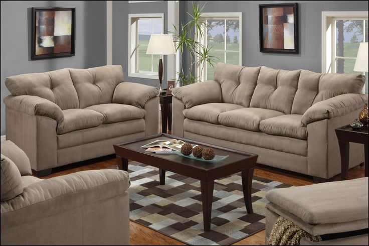 Cheap Couch and Loveseat Set