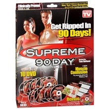 Supreme 90 Day Exercise System DVD Set - Workout at Home