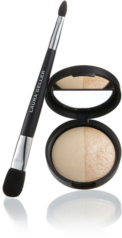 Laura Geller Baked Highlighter, French Vanilla #LauraGeller