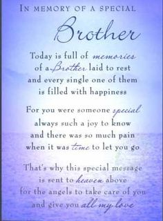 Bereavement Poems for My Brother | 30+ Poems About Funeral of Your Loved One's