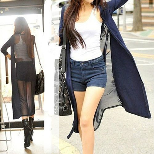 http://www.ebay.com/itm/Cool-Pop-Womens-Semi-Sheer-Mesh-Back-Long-Sleeve-Maxi-Top-Cardigan-Stretchy-Coat-/281095237160