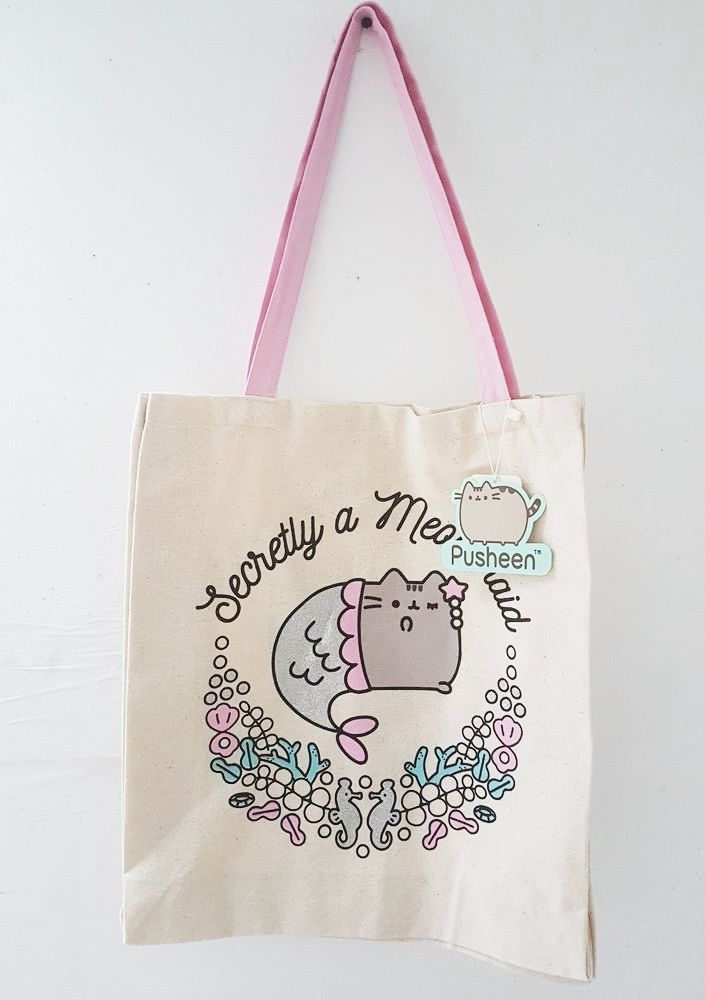 7067380c824 Pusheen Secretly A Meowmaid Tote Bag Purchased in Primark