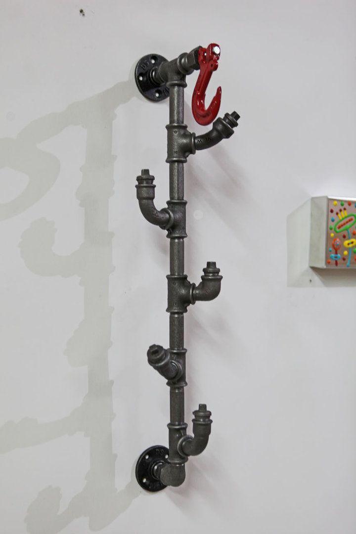 Wand-Regale Industrieregale Kleiderhaken