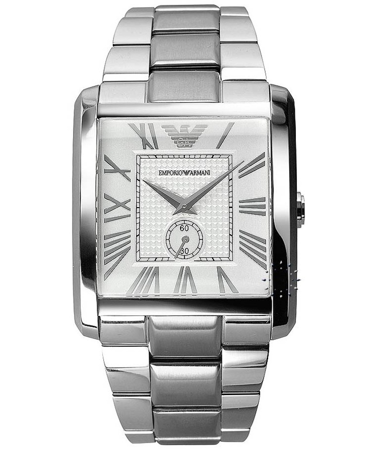 Emporio Armani Classic Stainless Steel Bracelet, 252€ http://www.oroloi.gr/product_info.php?products_id=32570