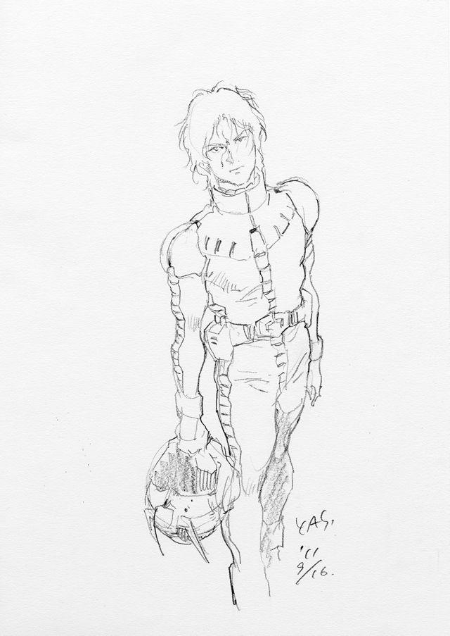 安彦良和さんオリジナルイラスト : Gメン47 - 47NEWS(よんななニュース)