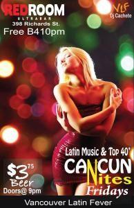 Vancouver Latin friday salsa dancing