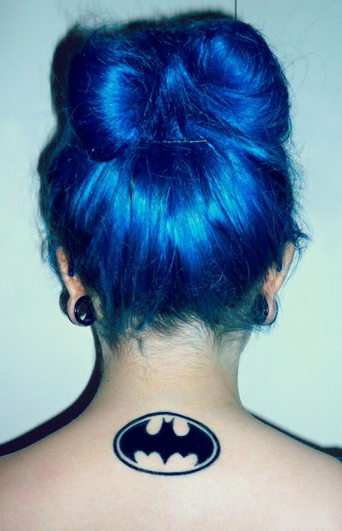 batman symbol tattoos
