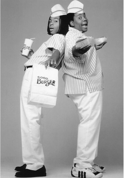 Welcome to Good Burger, home of the Good Burger, can I take your orderrrr?