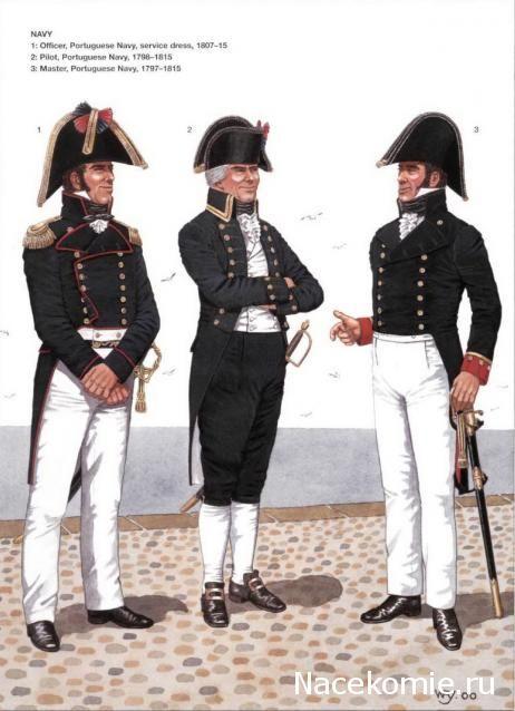 Ufficiale, pilota e sottufficiale della marina