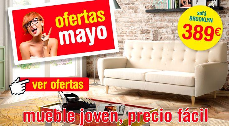 Mayo, mes de las flores y de las ofertas en muebles! Precios válidos hasta 30/06/2016. Más info en https://www.tuco.net/