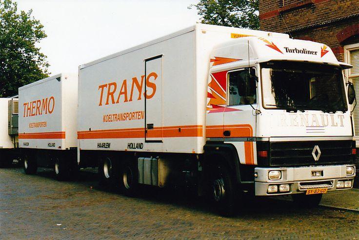 Naar aanleiding van de site van medeforummer TriColore ben ik weer helemaal enthousiast aan het raken van oude trucks zoals die in mijn vroege jeugd (zo'n beetje eind jaren '70, begin jaren '80)rondreden. De liefde voor vrachtwagens steekt bij mij af en toe de kop op, zo ongeveer vanaf de lagere sc