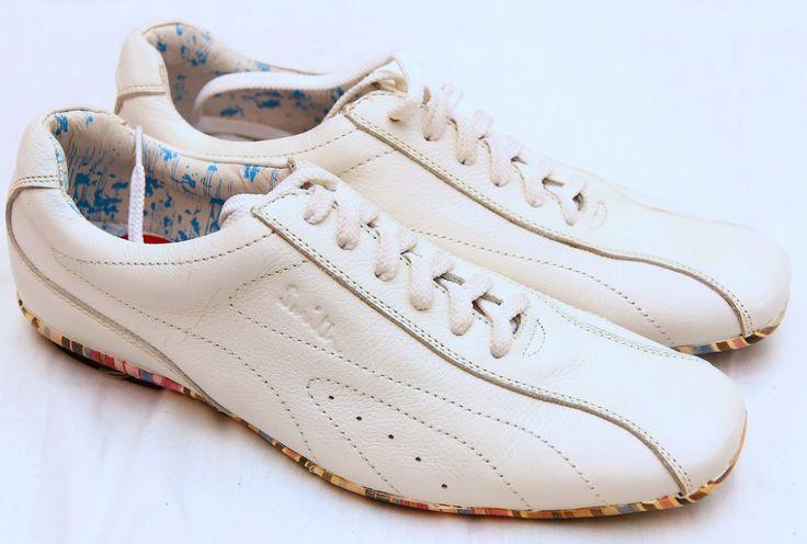 Туфли Paul Smith кожаные 40-41 размер белые #18362    Туфли Paul Smith кожаные 40-41 размер белые #18362 Туфли из натуральной кожиЦена снижена - распродажа