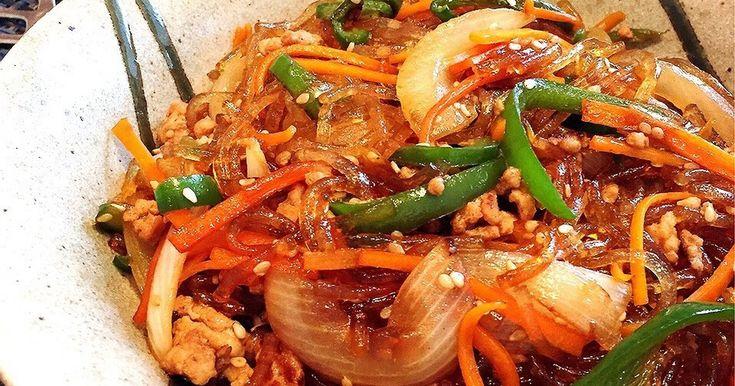 家にあるもので★簡単チャプチェ by Y♡kitchen [クックパッド] 簡単おいしいみんなのレシピが249万品