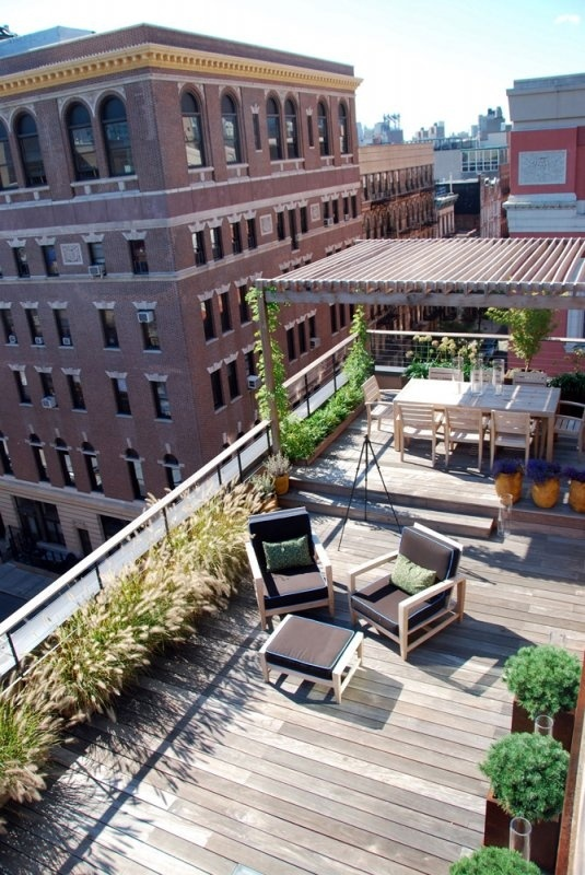 Odds of getting a roof top deck with my first NYC apt....here's hoping!
