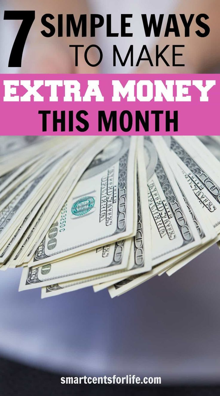 Are you looking to make money fast? These 7 tips will help you earn extra cash. You could make hundreds every month! Follow these simple side hustles working from home!