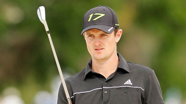 Justin Rose's preshot routine never waivers