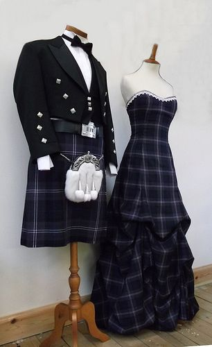 Scotland Forever Tartan in our Tea Room, Lochcarron Weavers