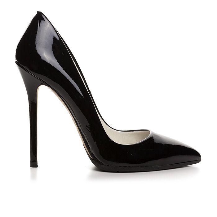 1203A00_BLACK PATENT www.mourtzi.com #black #classy #heels #blackpatent #classyoutfit