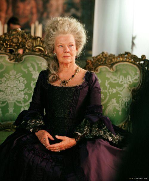 Judi Dench as Lady Catherine de Bourg in Pride and Prejudice (2005).