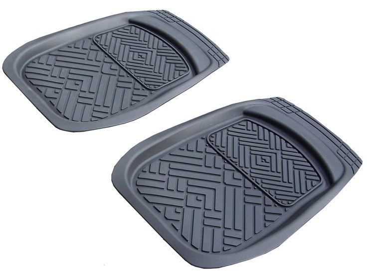 Tapis auto en caoutchouc pour une protection du sol de votre auto. Idéal pour l'hiver.  http://www.automotoboutic.com/tapis-auto-caoutchouc/5449-tapis-caoutchouc-pvc-baquet-curves.html #tapisauto #tapisvoiture #tapissurmesure