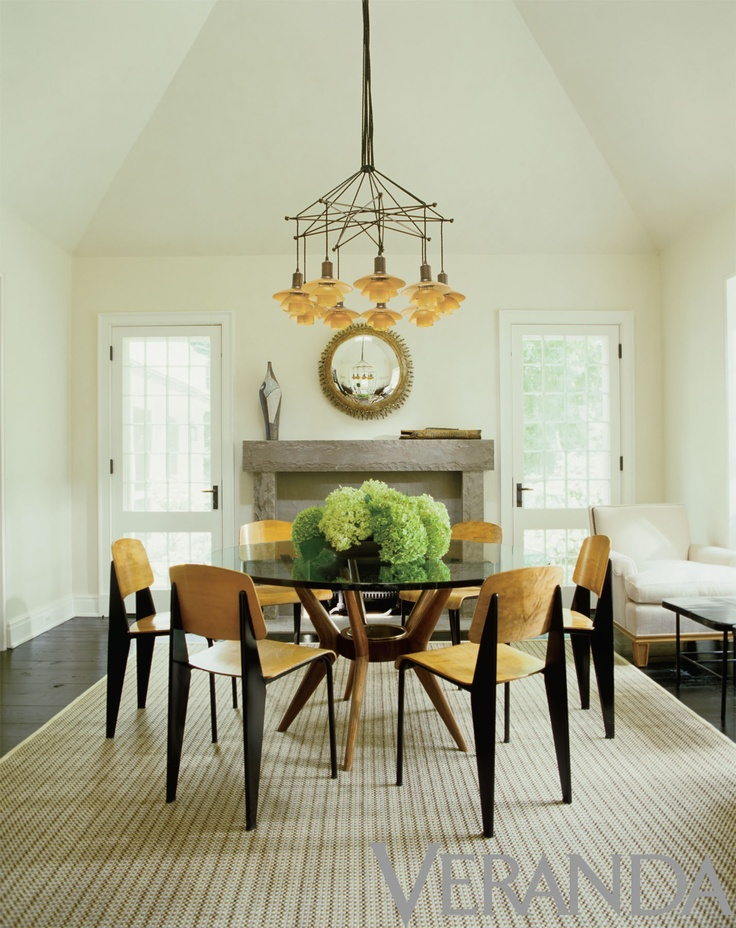 33 best chandeliers in veranda images on pinterest white for Centerpiece for round dining table