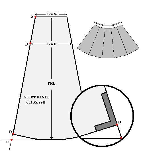 Custom reversible wrap skirt
