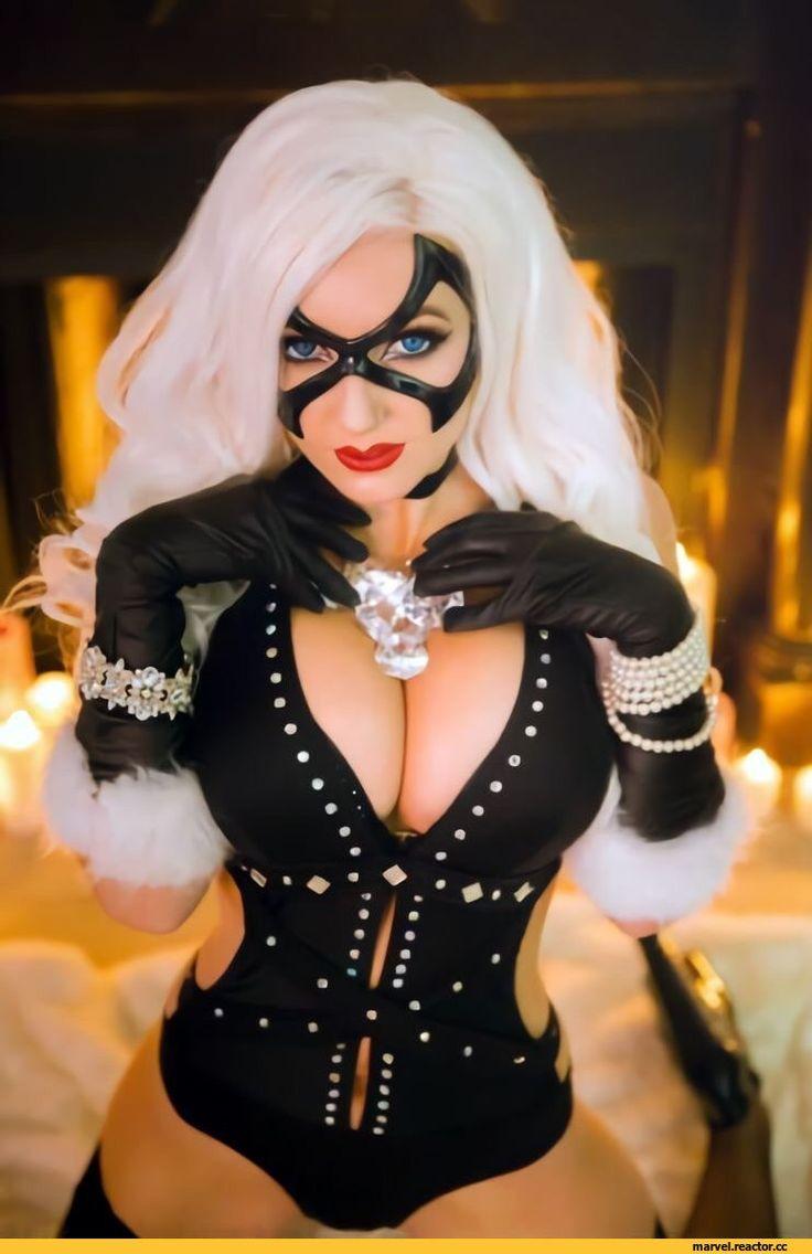 Jessica Nigri,Marvel,Вселенная Марвел,фэндомы,Marvel Cosplay,Косплей,Marvel Ero,Эротика,cosplay,Black Cat,Черная Кошка, Фелиция Харди
