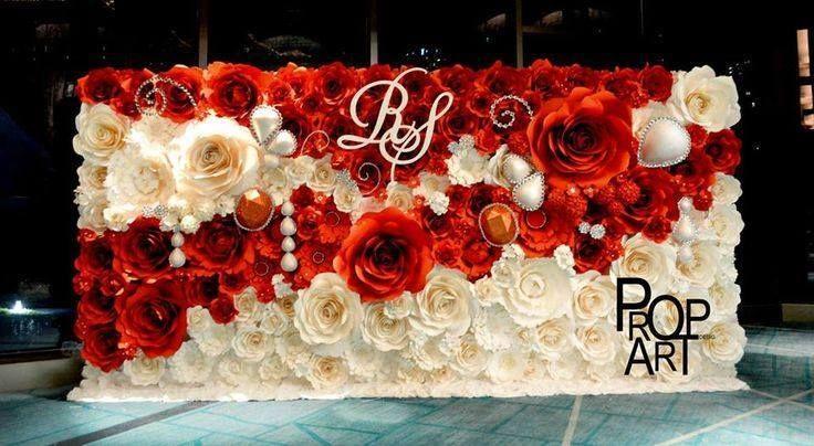 49 best images about decoraciones con flores de papel on pinterest decorations paper and flowers - Decorar con papel ...