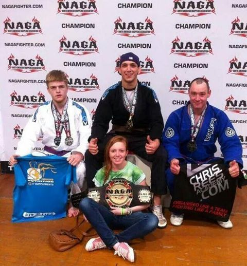 Cleaning up at the Bjj championships