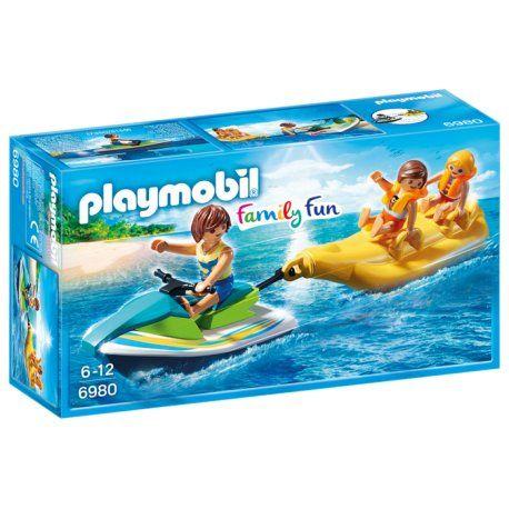 Witajcie:) Figurki Playmobil na bananie:)    Jet Ski z Bananową Łódką w zestawie Playmobil 6980 dla dzieci już od lat 6.     Do skutera wodnego przymocuj łódkę w kształcie i płyń przez fale. Na bananie można umieścić 2 figurki z kamizelkami ratunkowymi.     Kierowca skutera jest zawodowcem, kamizelki nie potrzebuje:)    http://www.niczchin.pl/playmobil-summer-fun/4040-playmobil-6980-jet-ski-z-bananowa-lodka.html    #playmobil #familyfun #bananowałódka #zabawki #niczchin #kraków