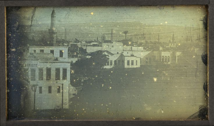 Joseph Prangey - General view taken from my terrace, Ezbékieh, Cairo, 1843