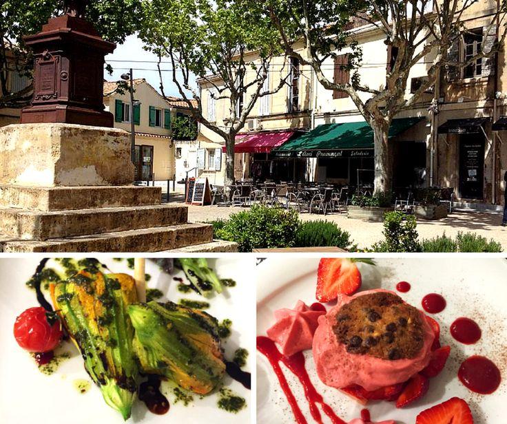 Restaurant L'ami Provençal à Fontvieille (1 toque), du chef Yoann Palmero.