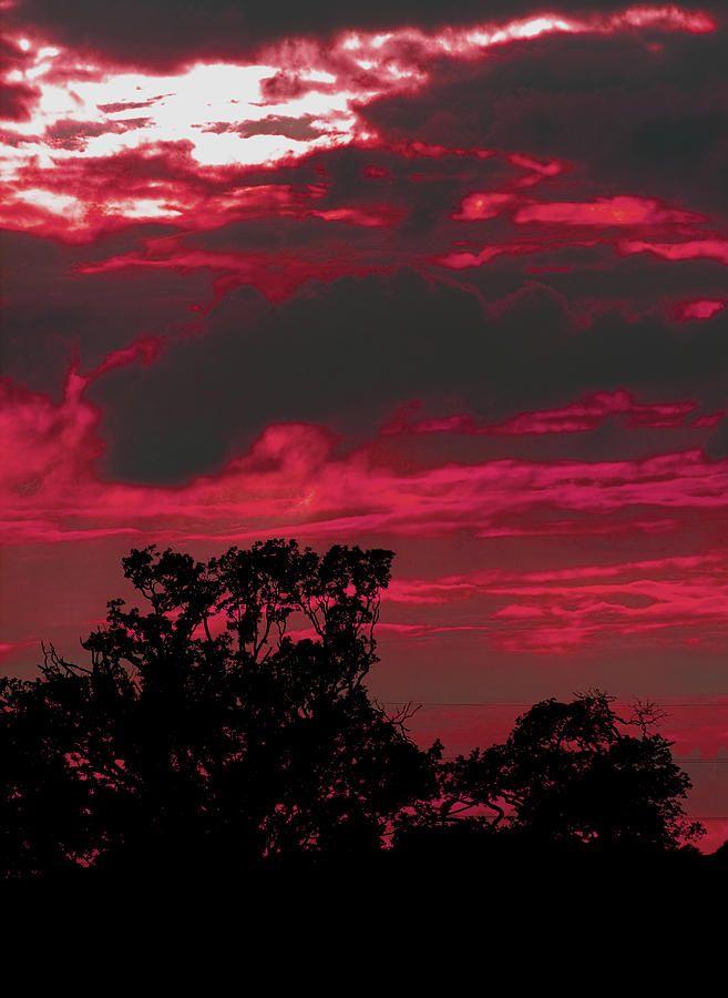 Devil red cloud