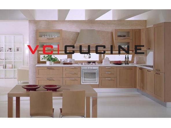 High quality wood veneer kitchen furniture set