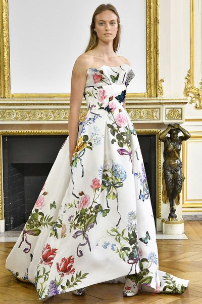 40 best things i want images on pinterest jewerly earrings and monique lhuillier spring 2018 look 36 sciox Choice Image