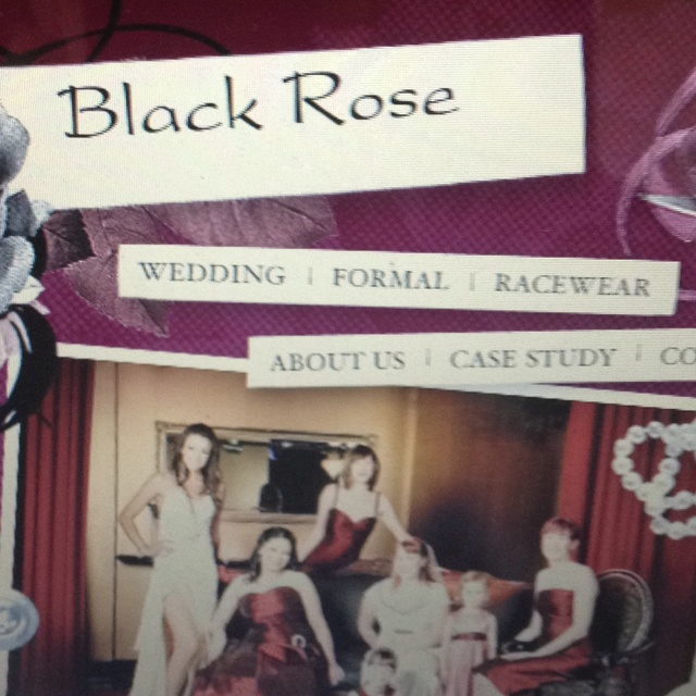 Black rose  Glen Iris