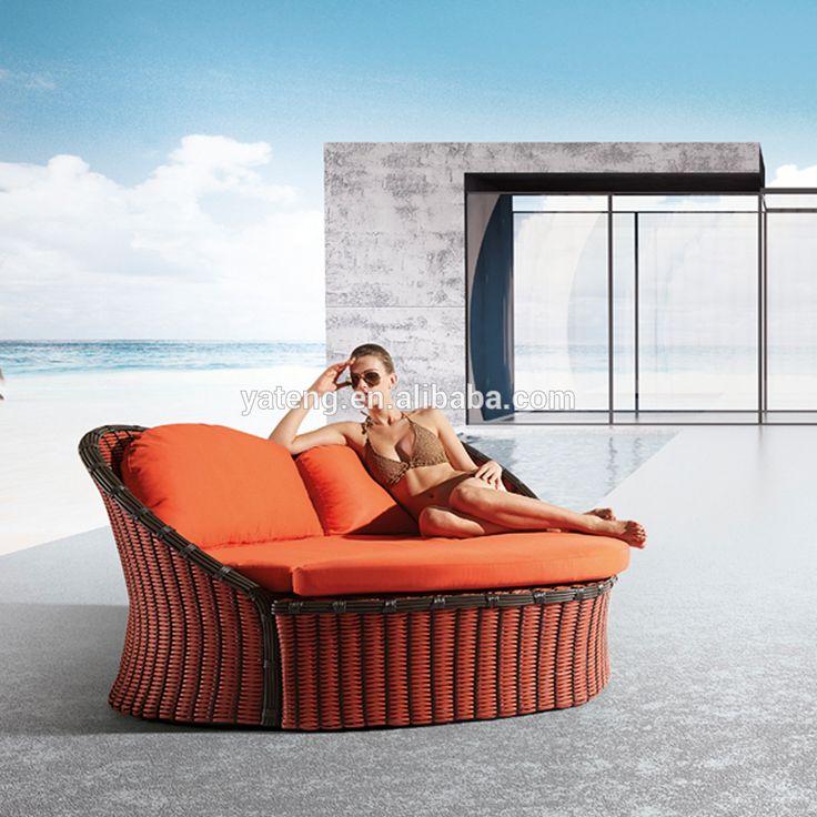 Las 25 mejores ideas sobre camas al aire libre en for Sofa columpio exterior