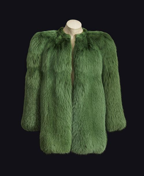 """Yves Saint Laurent 1971, la collection du scandale"" à la fondation Pierre Bergé http://www.vogue.fr/mode/news-mode/diaporama/la-collection-scandale-dyves-saint-laurent-la-fondation-pierre-berg/18914/carrousel#6"