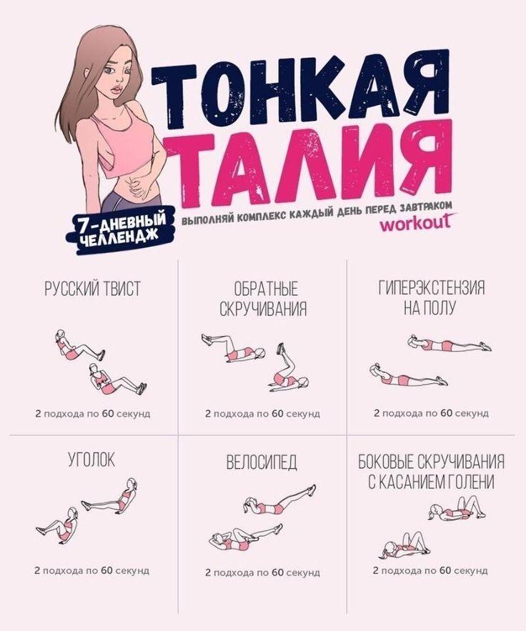 Как Похудеть На Талии Упражнения. Как уменьшить талию и сделать ее стройной