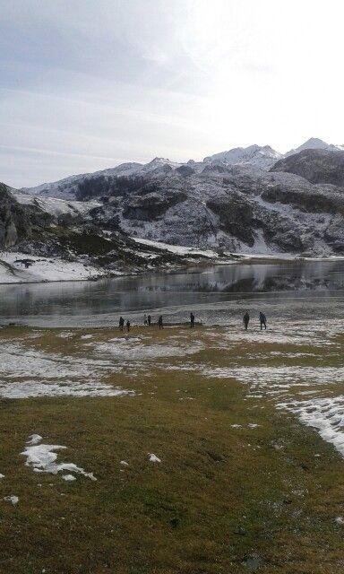 El lago congelado